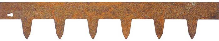 Kantskydd metall obeh. 1 x 0,17 m