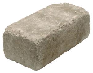 Rustik block 390x190x138, Grå