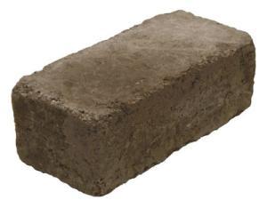 Rustik block 390x190x138, Antracit