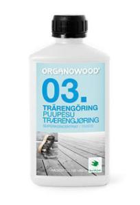 OrganoWood Trärengöring 03, 0,5 L