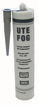 Utefog Svart 310ml