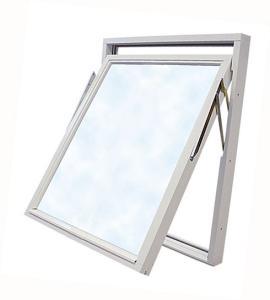 Vridfönster 11 x 13, Alu, Vit