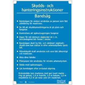 Slöjdinstruktion Bandsåg