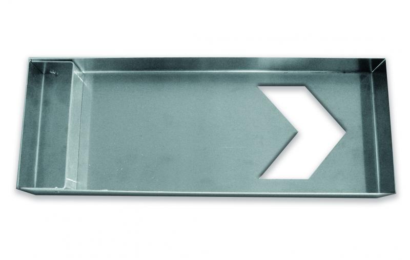 Schablon av aluminium