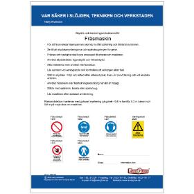 Elevmaterial Fräsmaskin | Everglow.se