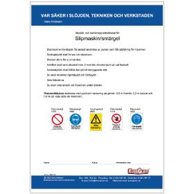 Elevmaterial Slipmaskin Smärgel | Everglow.se