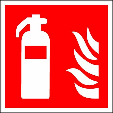 Brandsläckarskylt