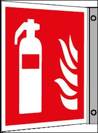 Brandsläckarskylt flagg
