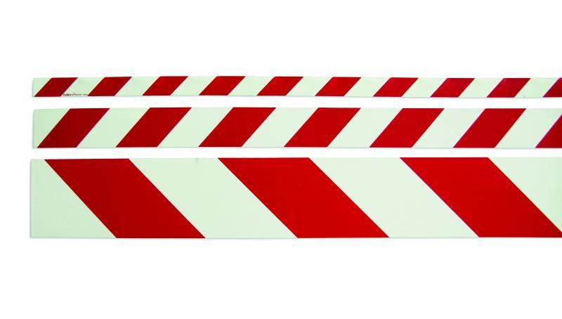 Efterlysande varningsmarkering röd