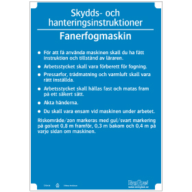 Slöjdinstruktion Fanerfogmaskin