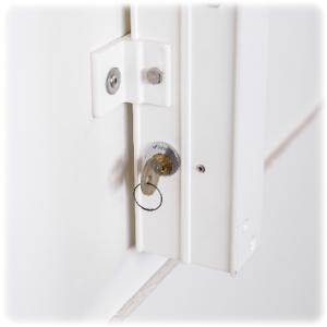 Inspektionsstege med lås