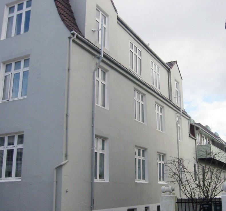 Modum fasad- & utrymningsstege  Everglow.se