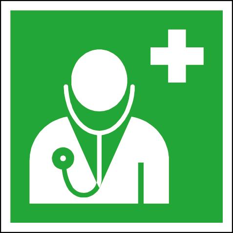 Efterlysande nödskylt läkare