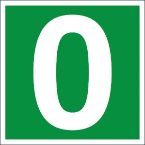 Efterlysande skylt, bokstäver och siffror