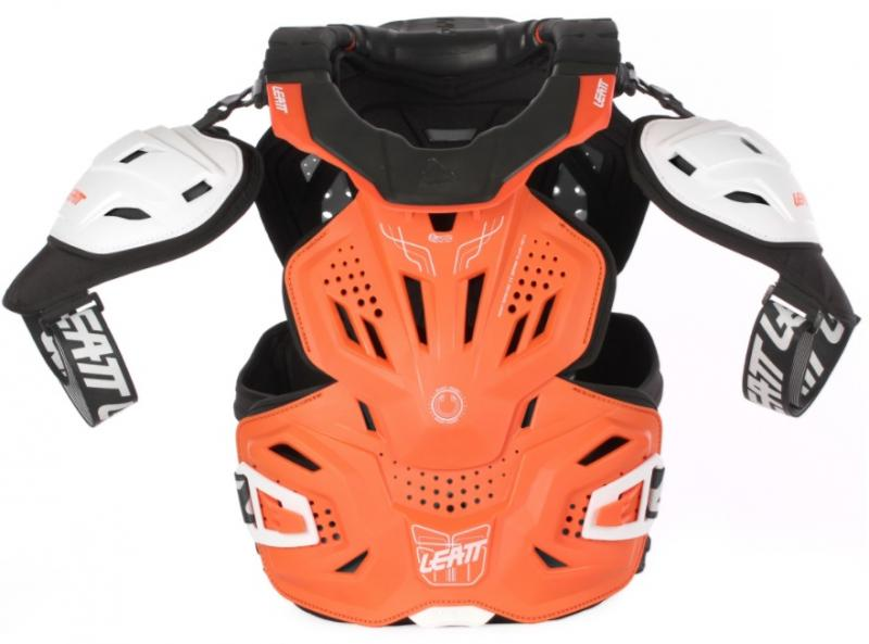 Leatt Fusion 3.0 Skyddsväst Orange