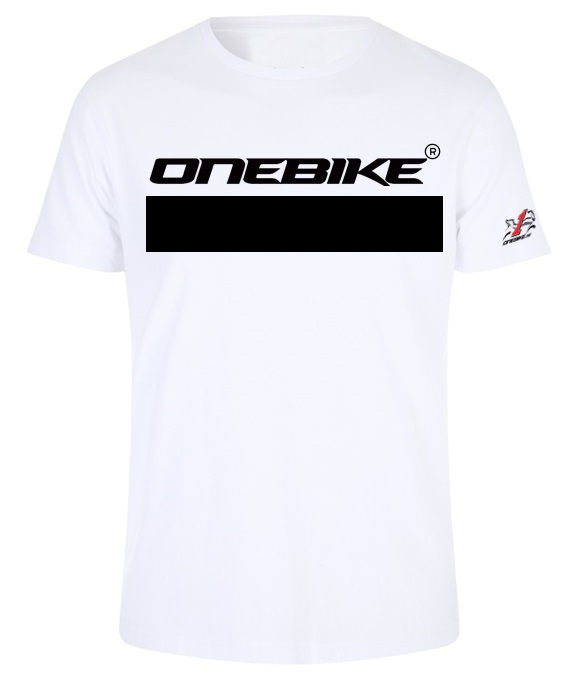 OneBike Racing T-shirt Vit