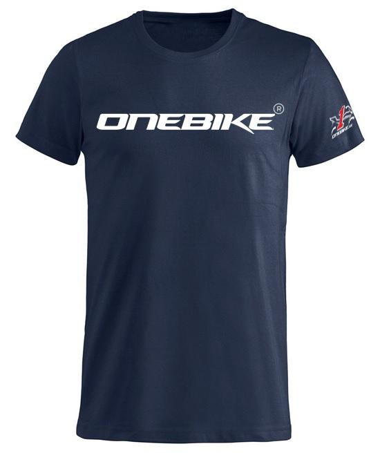 OneBike Basic T-Shirt Blå