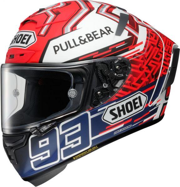 Shoei X-Spirit 3 Marquez5 TC-1 Hjälm Röd/Vit/Blå