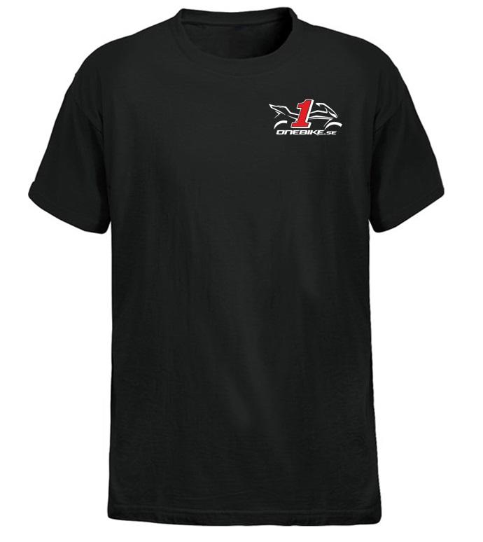 OneBike T-Shirt Svart