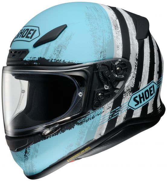 Shoei NXR Shorebreak TC-2 Hjälm Svart/Blå/Vit