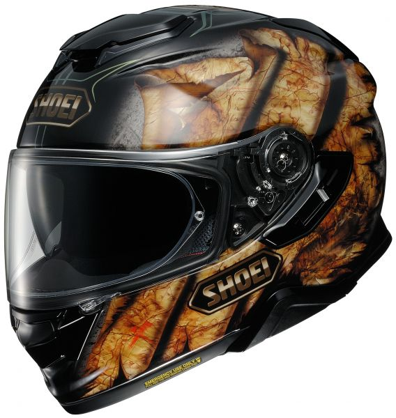 Shoei GT-Air 2 Deviation TC-9 Hjälm Svart/Brun