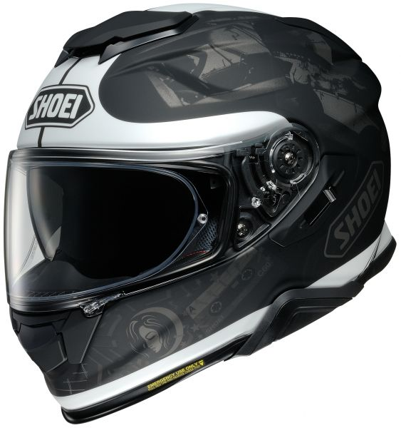 Shoei GT-Air 2 Reminisce TC-5 Hjälm Mattsvart/Vit