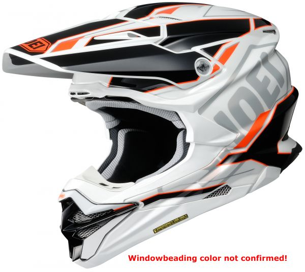 Shoei VFX-WR Allegiant TC-8 Crosshjälm Svart/Orange/Vit