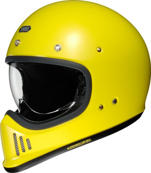Shoei EX-Zero Brilliant Hjälm Gul