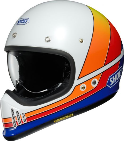 Shoei EX-Zero Equation TC-2 Blå/Orange/Vit/Gul