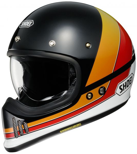 Shoei EX-Zero Equation TC-10 Hjälm Svart/Orange/Röd/Vit/Gul
