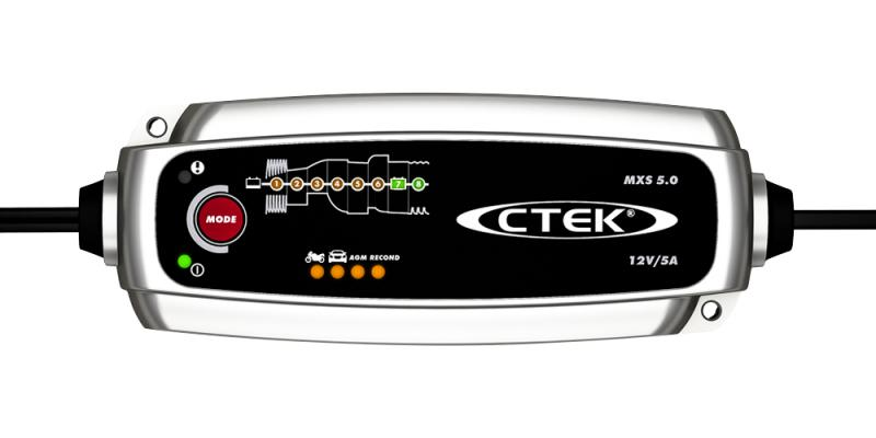 CTEK MXS 5.0 EU Batteriladdare