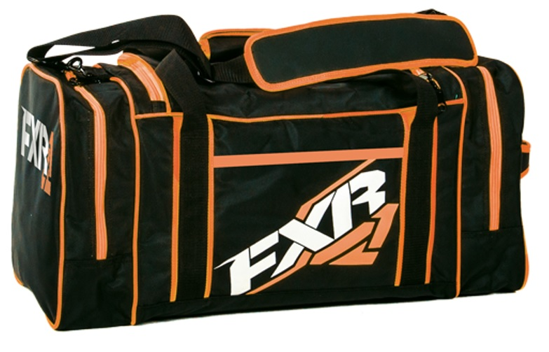 FXR Duffel Väska Svart/Orange