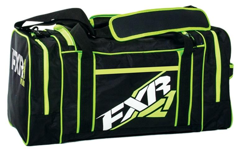 FXR Duffel Väska Svart/Lime-Grön