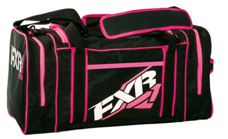 FXR Duffel Väska Svart/Rosa