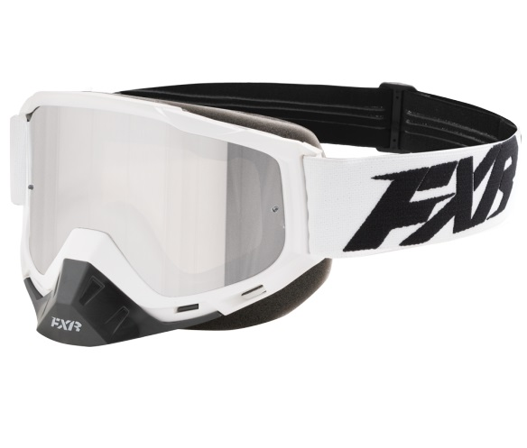 FXR Boost XPE MX Crossglasögon Vit/Svart