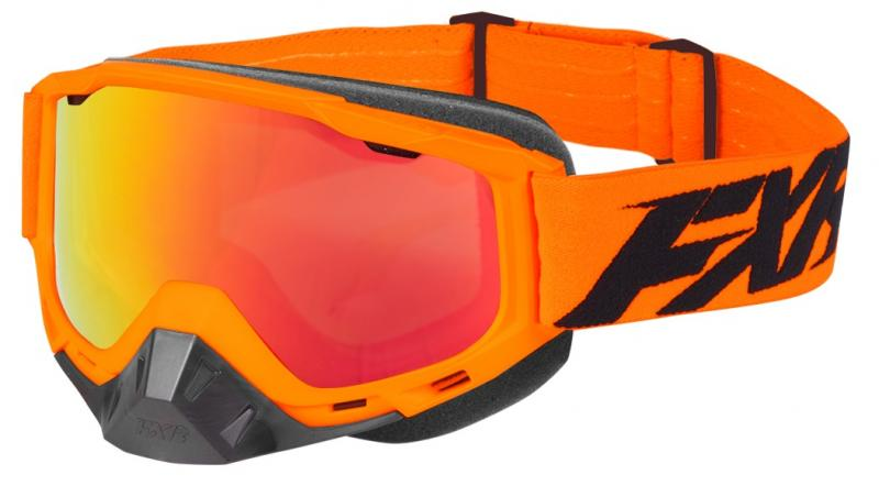 FXR Boost MX Crossglasögon Orange/Svart