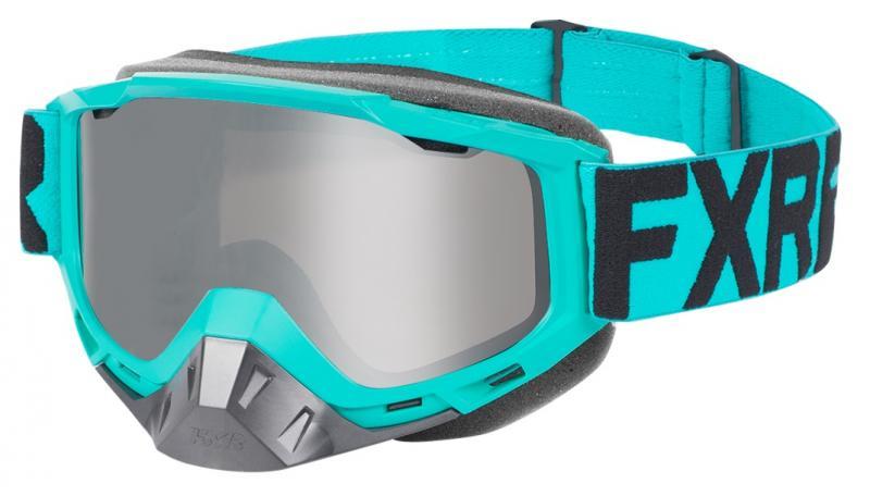 FXR Boost MX Crossglasögon Mint/Svart