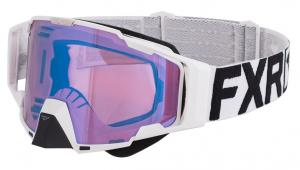 FXR Pilot Crossglasögon Vit/Svart