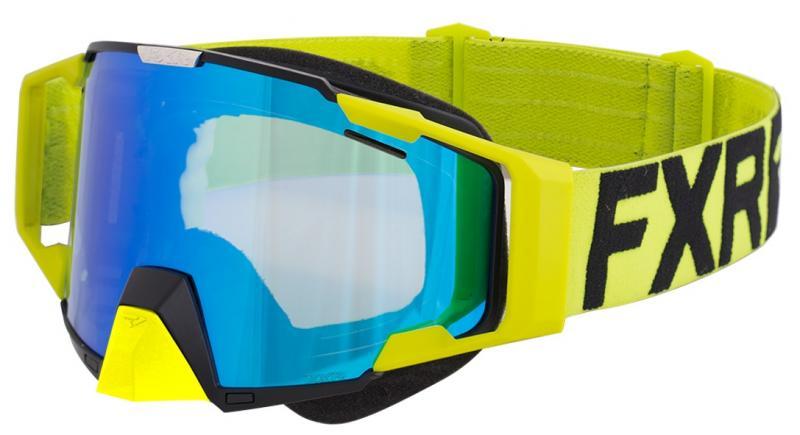 FXR Pilot Crossglasögon Fluo-Gul/Svart