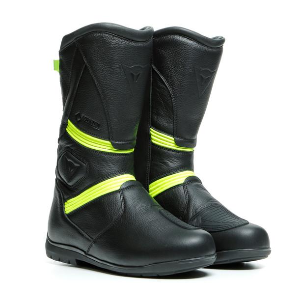 Dainese Fulcrum Gore-Tex® Stövel Svart/Fluo-Gul