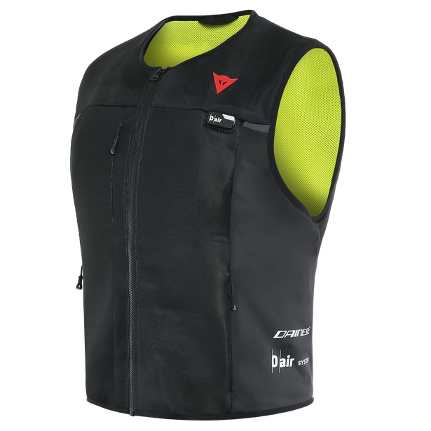 Dainese Smart Jacket D-air® Airbag Väst Svart/Fluo-Gul