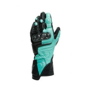 Dainese Carbon 3 Dam Handske Svart/Grön