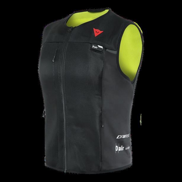 Dainese Smart Jacket D-air® Airbag Dam Väst Svart/Fluo-Gul