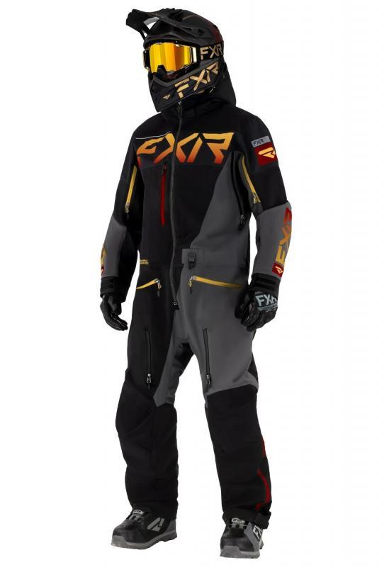 FXR Ranger SX PRO Lite Monosuit Svart/Grå/Guld