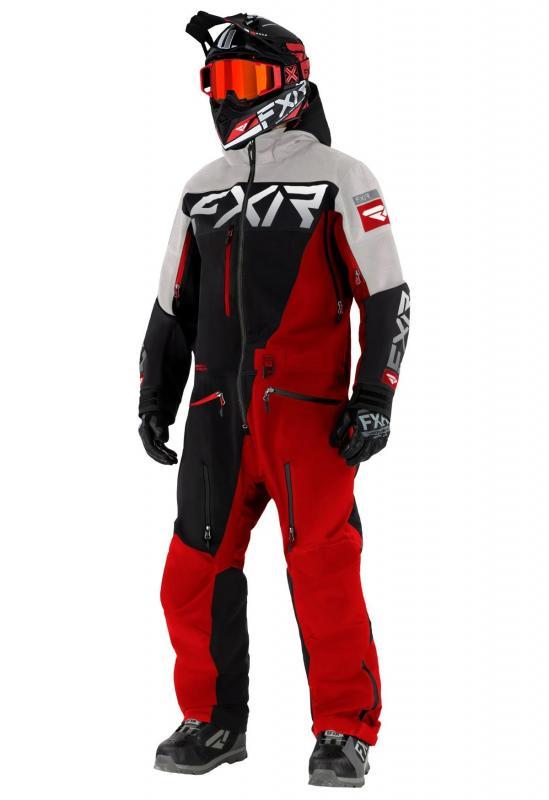 FXR Ranger SX PRO Lite Monosuit Svart/Röd/Grå