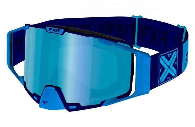 FXR Pilot Snöskoter Glasögon Blå