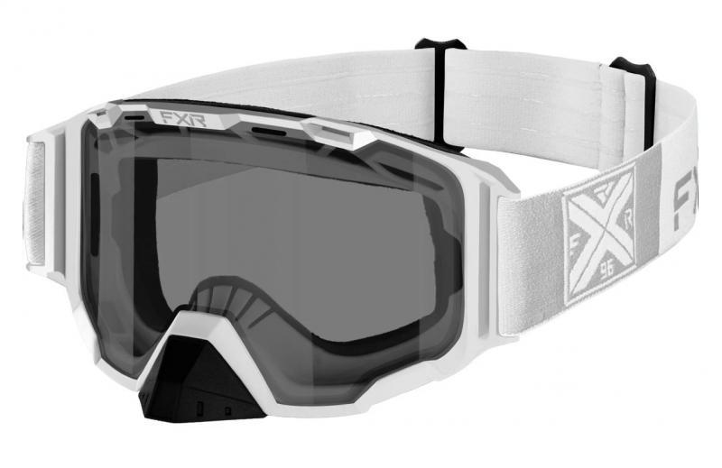 FXR Maverick Snöskoter Glasögon Vit