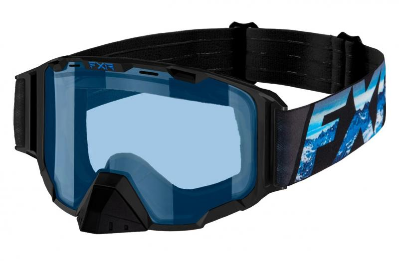 FXR Maverick Snöskoter Glasögon Blå/Svart