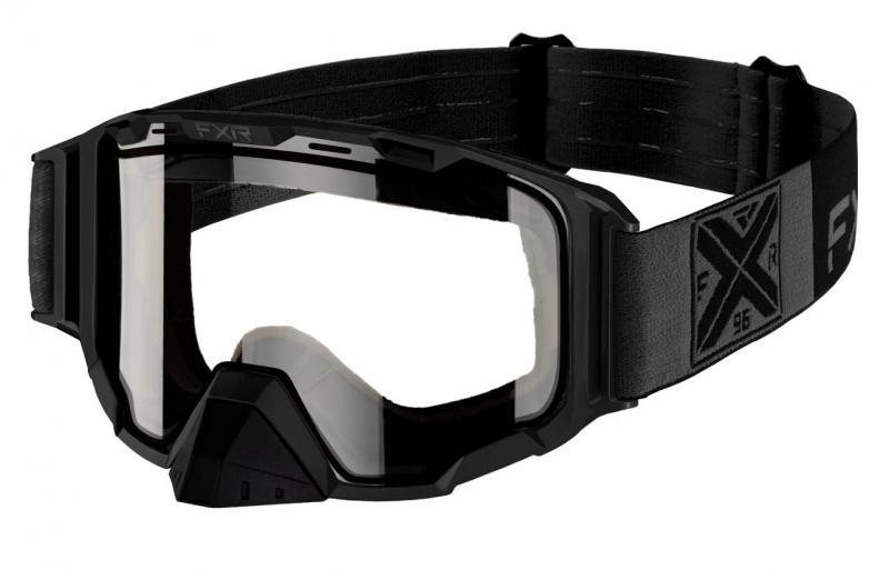 FXR Maverick Snöskoter Glasögon Svart