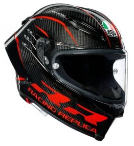 AGV Pista GP RR ECE Dot Performance Multi Hjälm Carbon/Röd